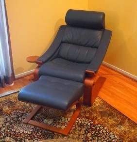 Roche Bobois Royal armchair & ottoman