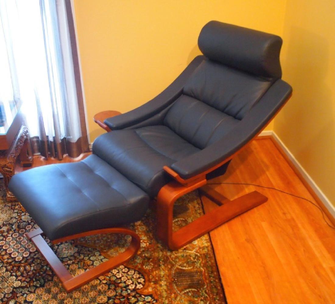 Roche Bobois Royal armchair & ottoman - 2