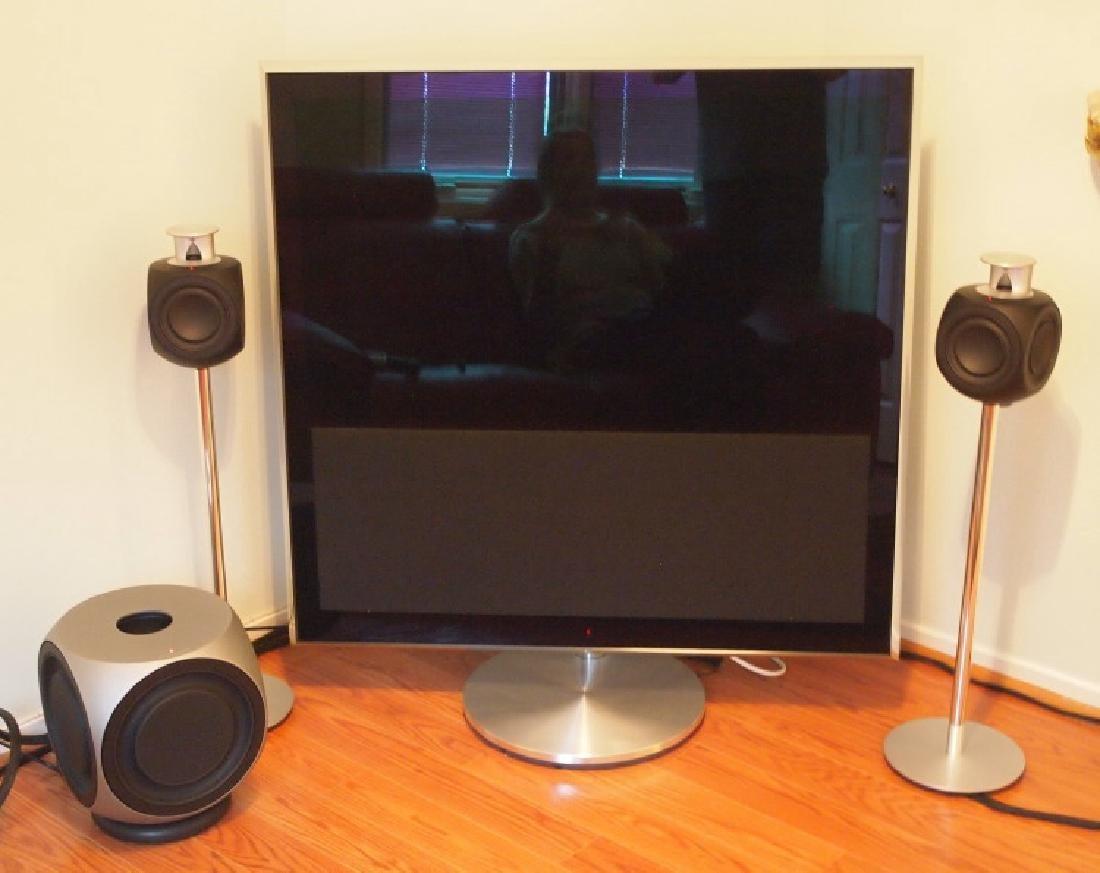 Bang & Olufsen BeoVision TV & speakers