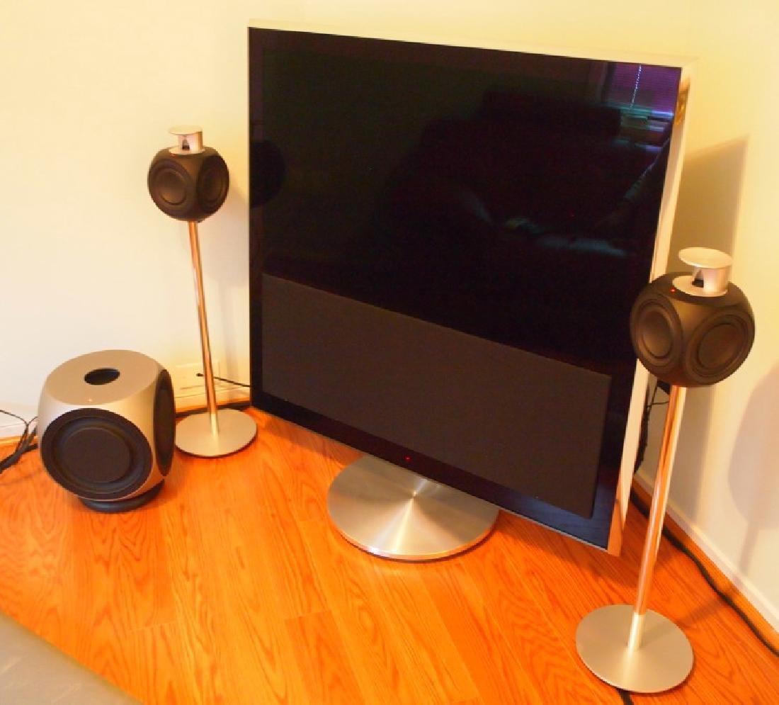 Bang & Olufsen BeoVision TV & speakers - 2