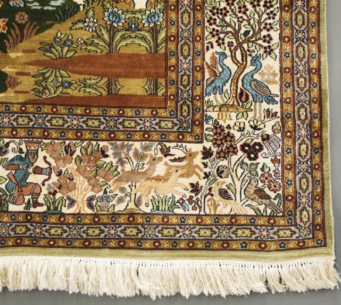 Tabriz Silk Rug - 2