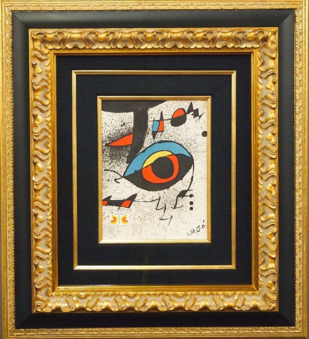 Joan Miro litho