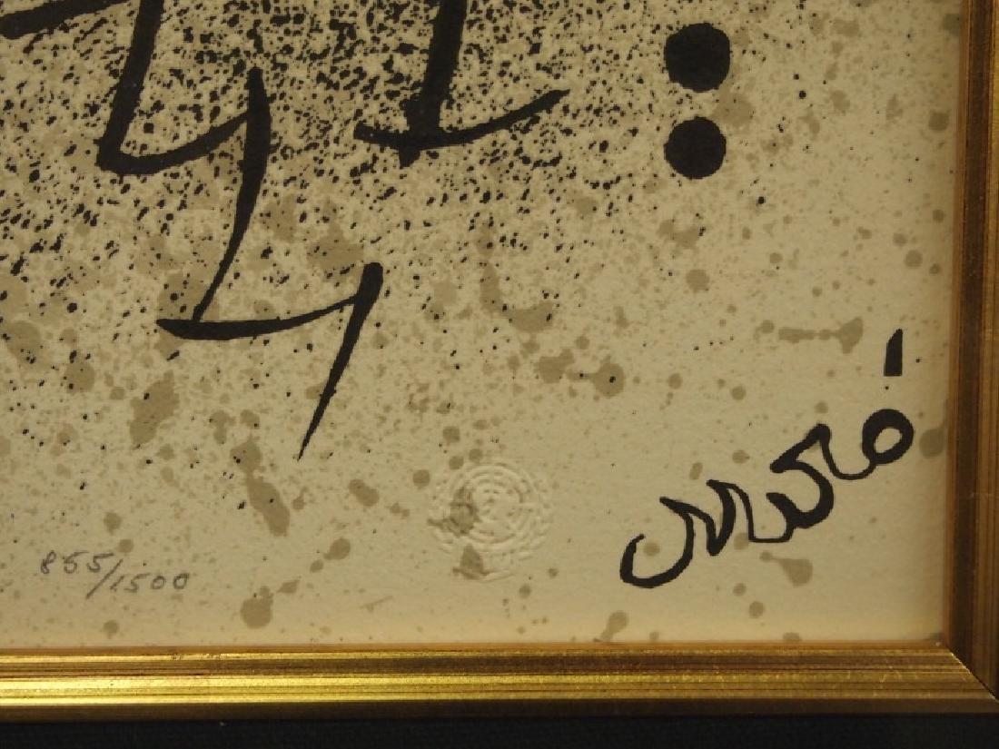 Joan Miro litho - 3