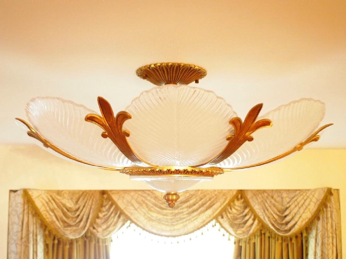 French style semi-flush ceiling fixture