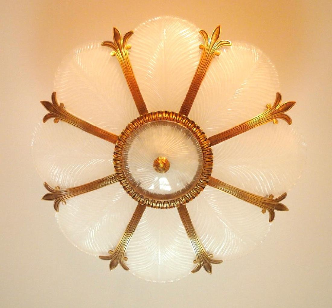 French style semi-flush ceiling fixture - 2