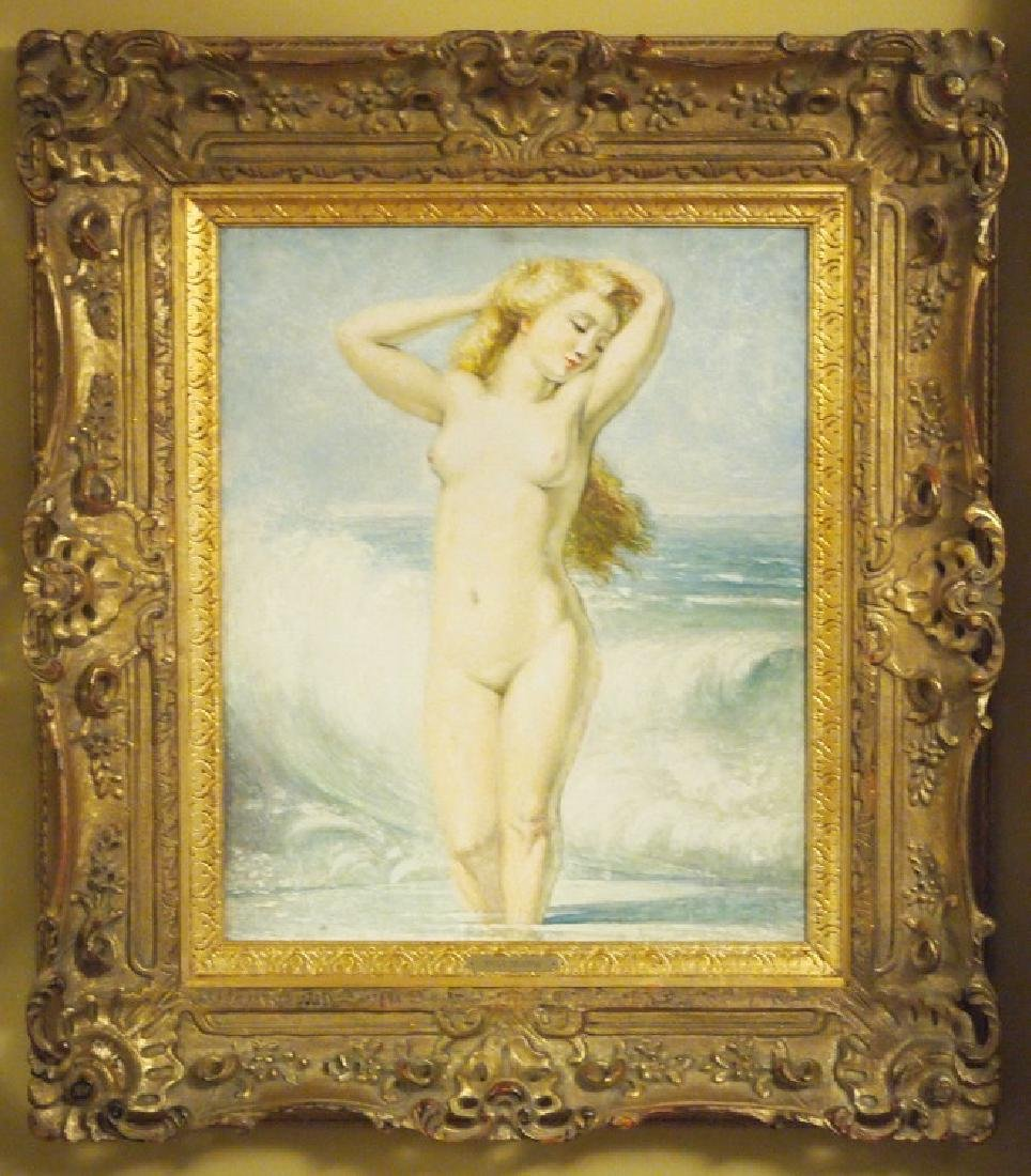 E. Delobre, Bather