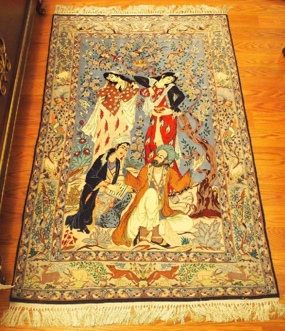 Indo Persian Pictorial rug