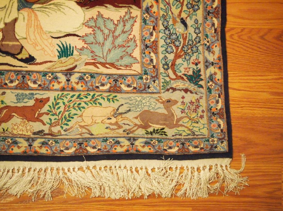 Indo Persian Pictorial rug - 2