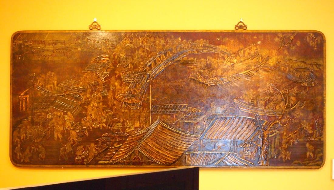 Chinese decorative panel