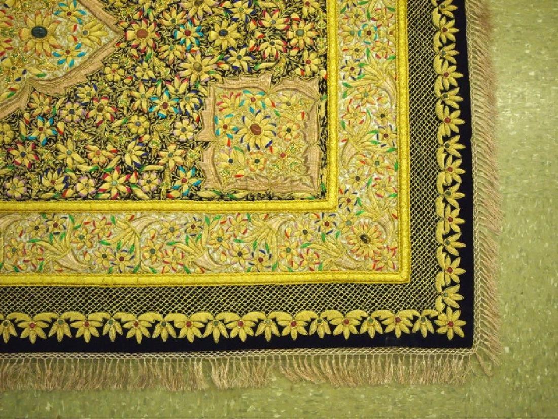 Kashmir jewel rug - 2