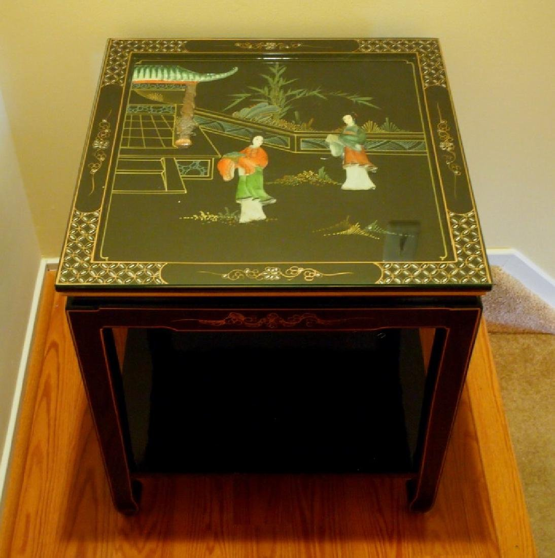 Chinese lacquer table