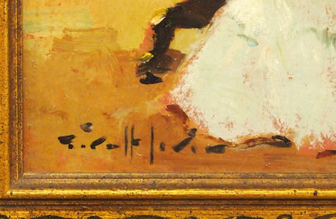 G. Lerin, woman at piano - 2