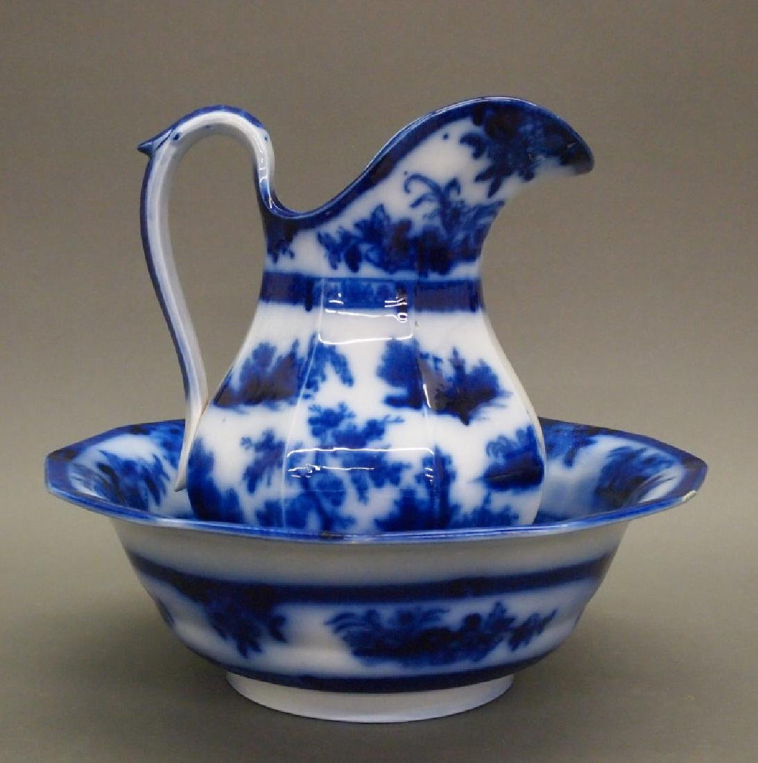 Wedgwood Chapoo bowl & pitcher