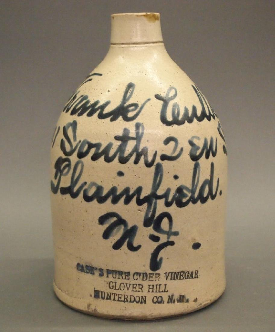 Plainfield, NJ script jug