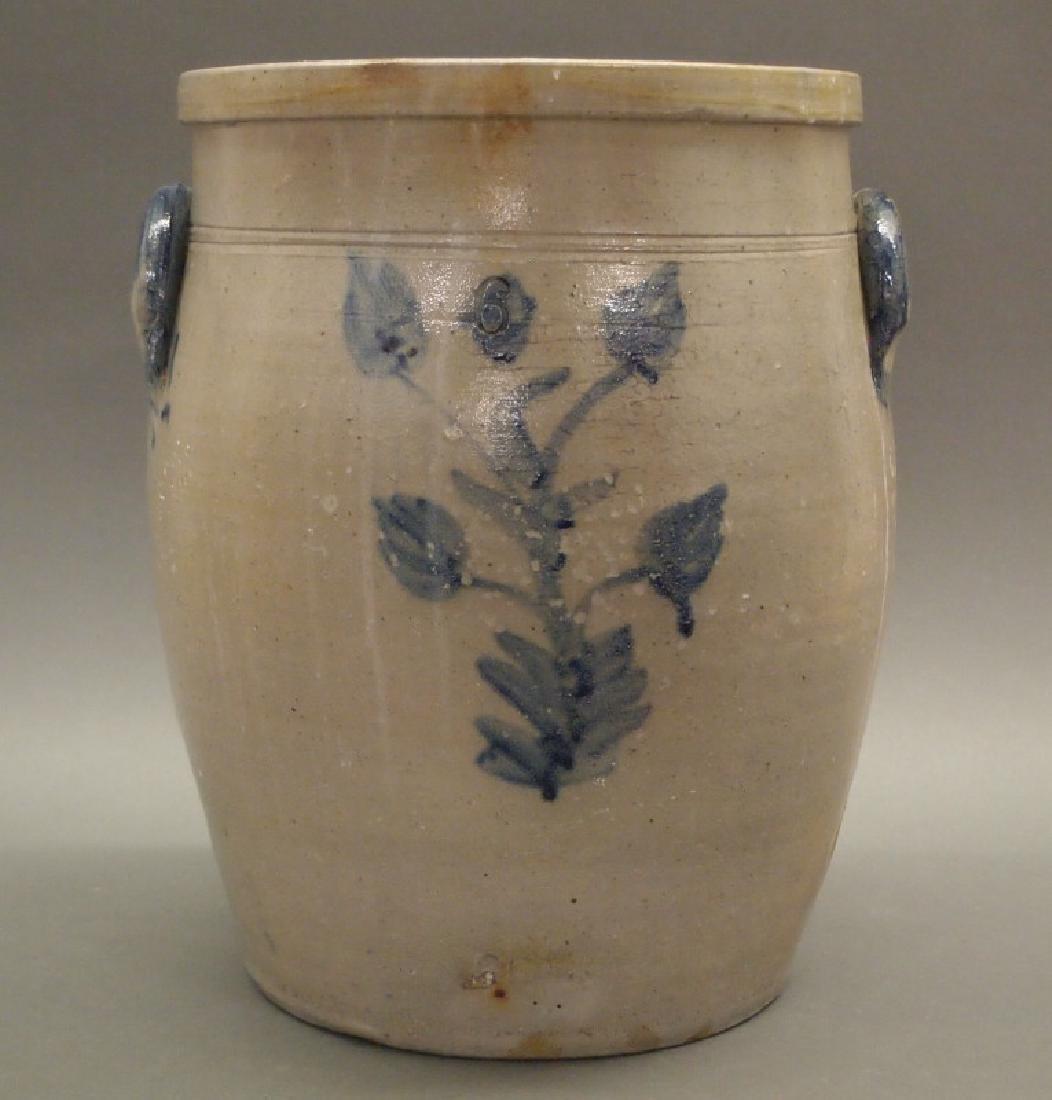 Stoneware crock, 6-gallon