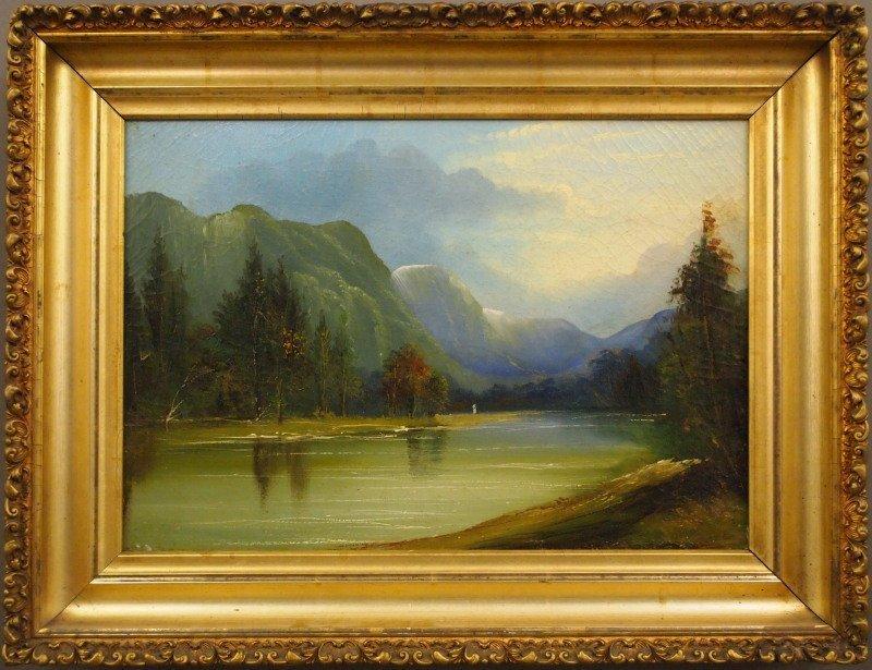 American Western landscape, Yosemite Valley