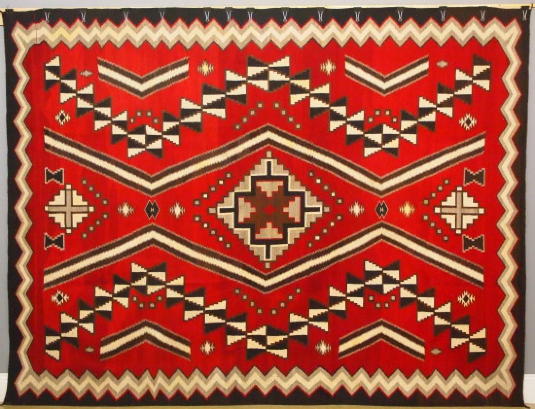 Large Navajo Ganado area rug, c. 1930