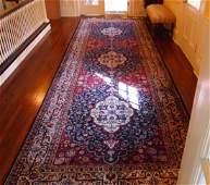 IndoPersian wool and silk rug