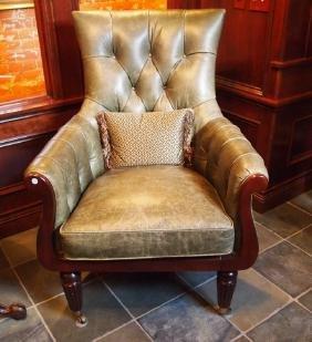 Pair of Regency style chairs