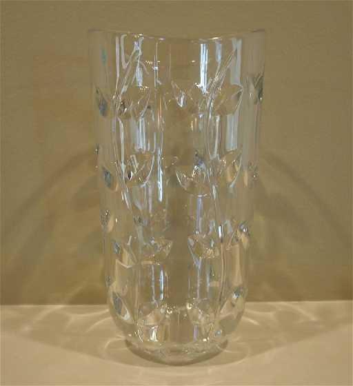 Joseph Riedel Vase For Tiffany Co