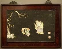 Pr Chinese porcelain plaques