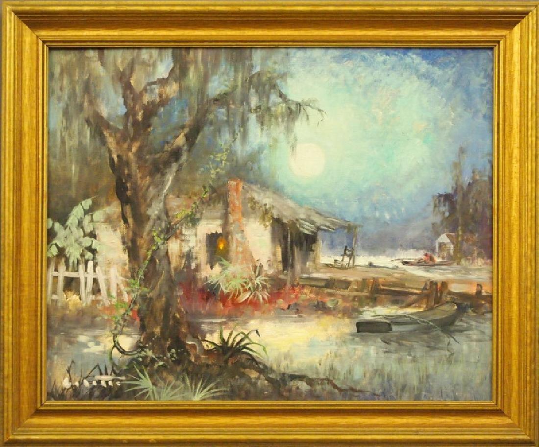Colette Pope Heldner Louisiana Swamp