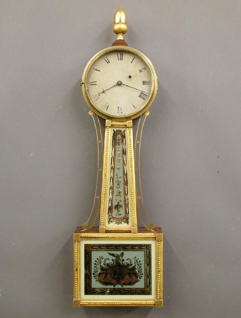 Aaron Willard Jr. Banjo clock