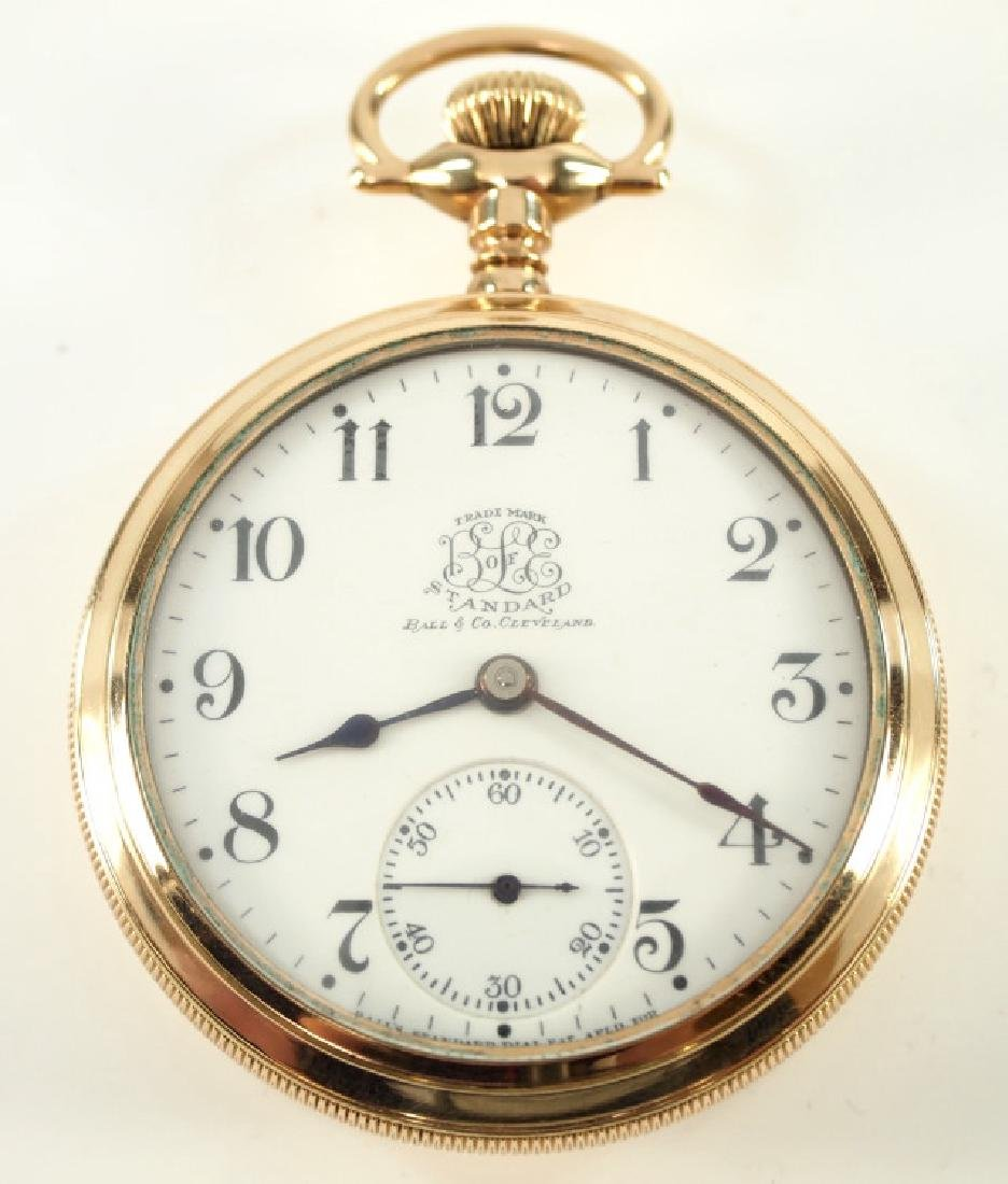 """Ball """"Hamilton"""" Watch Co. B of LE """"Official Standard"""""""