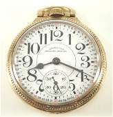 "Hamilton model 992B ""Railway Special"" pocket watch"