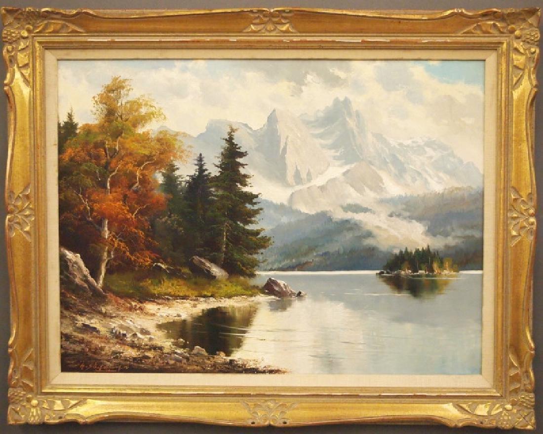 Stadelhofer Alpine Lake