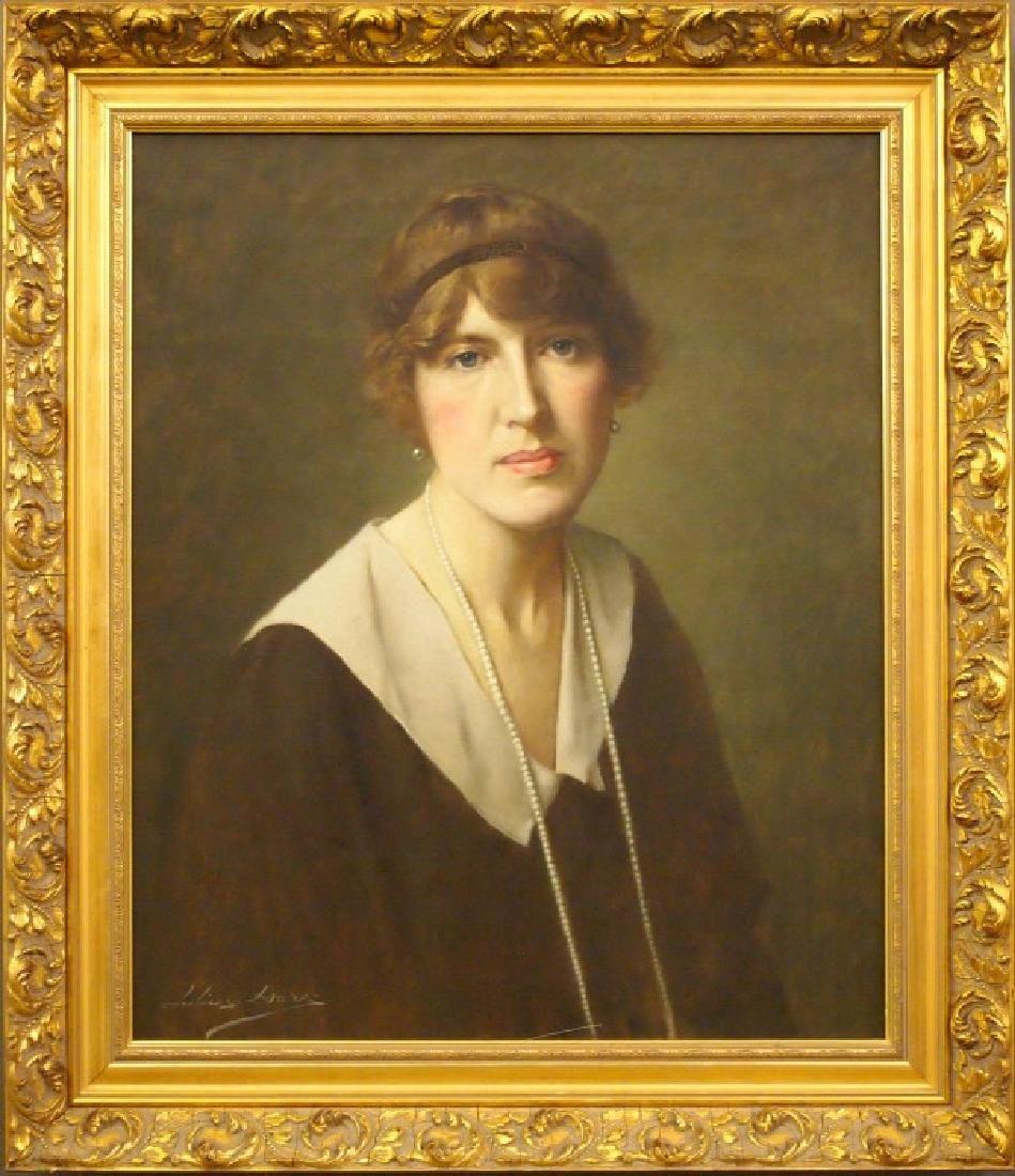 Julius Hare Portrait of a Lady
