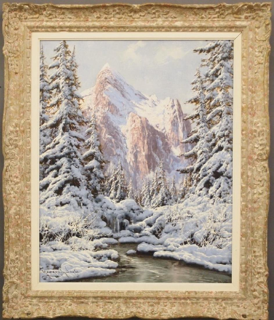Neogrady Alpine Scene