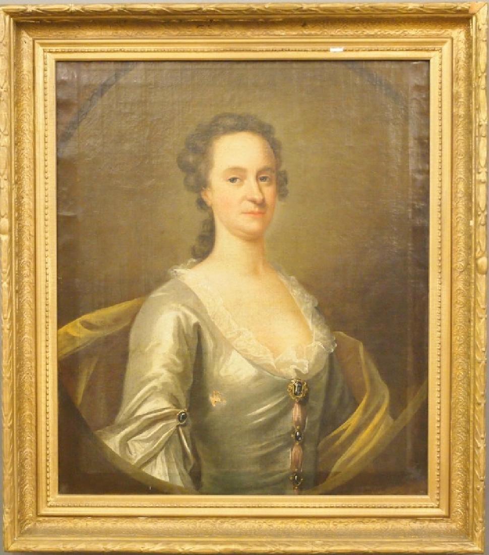 18th c. English Portrait of a Lady