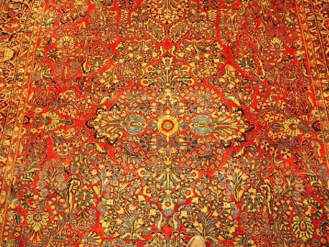 Persian Sarouk rug. - 2
