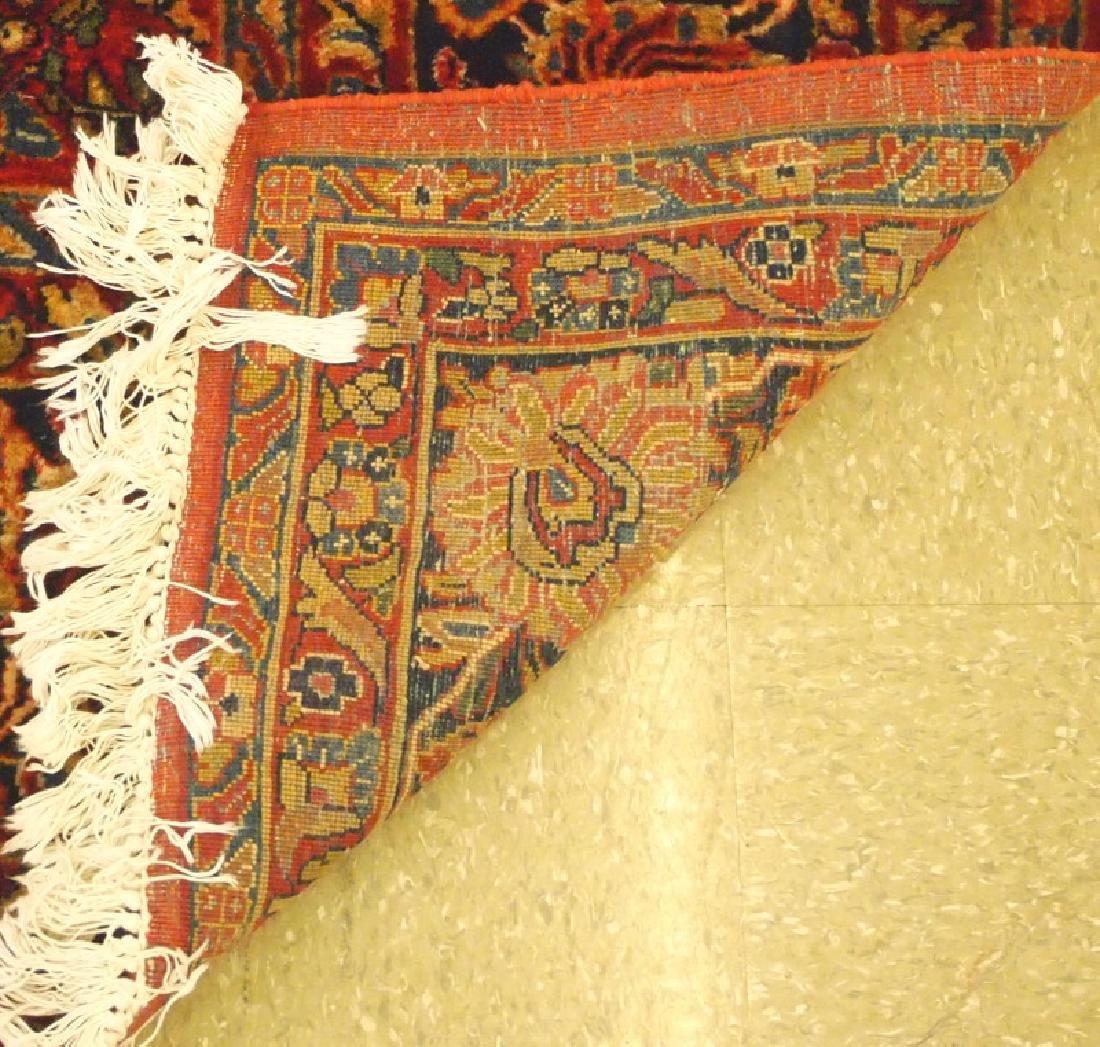Persian Sarouk rug. - 4