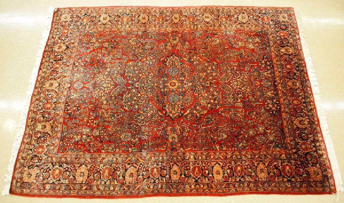 Persian Sarouk rug. - 5