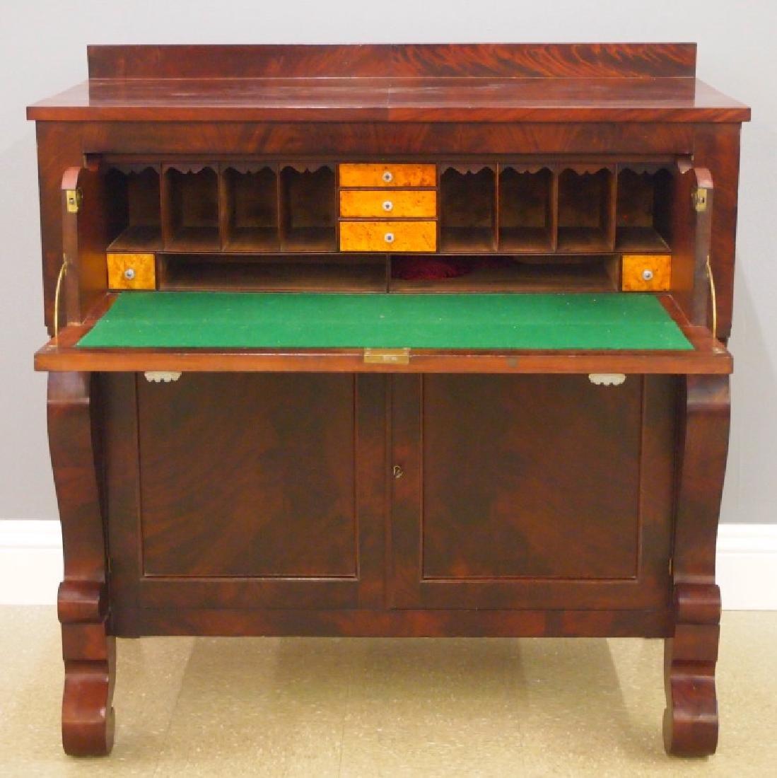 American Empire butler's desk