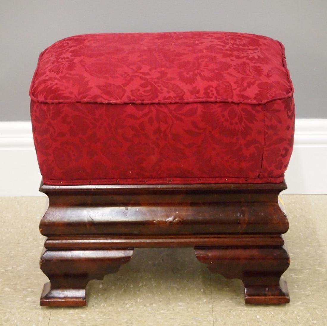 American Empire foot stool