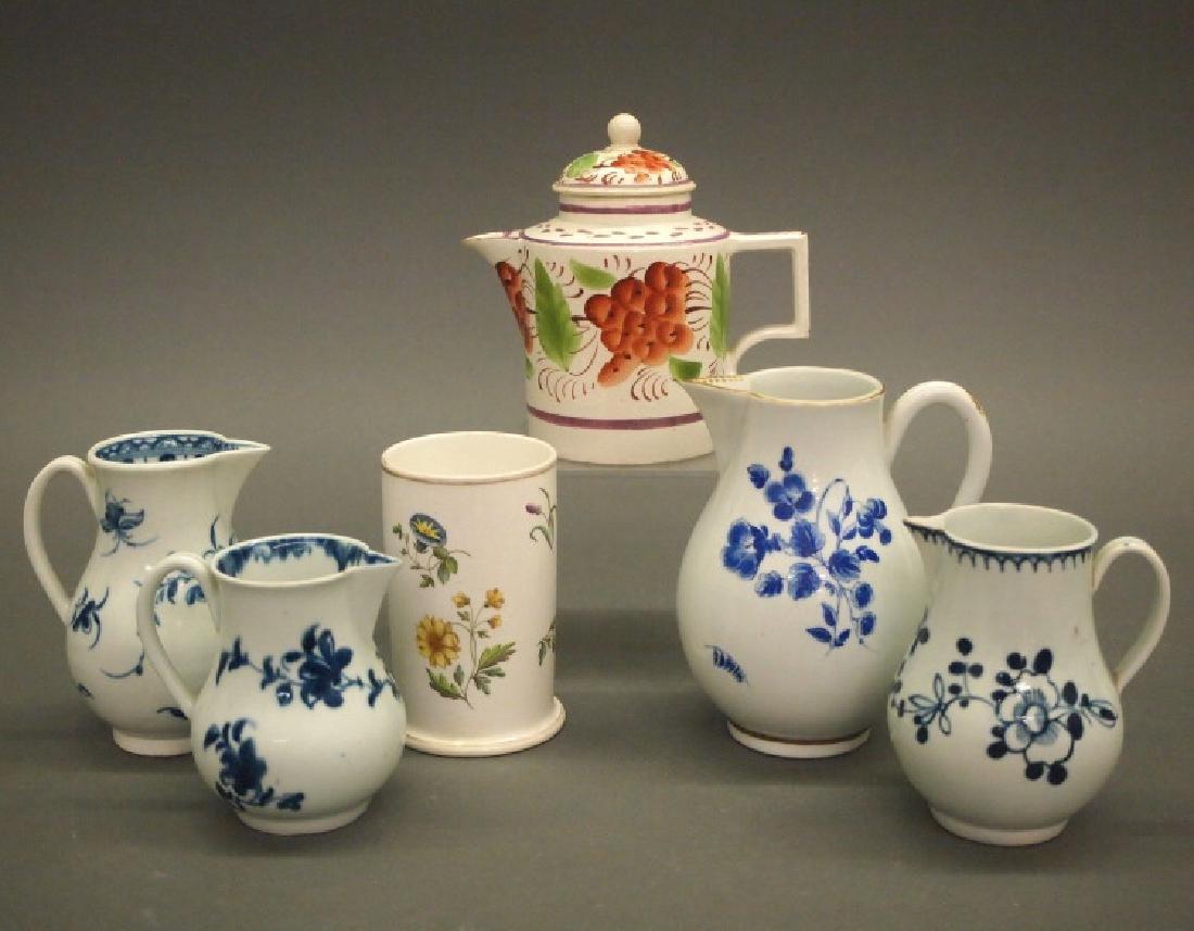 6 pcs Antique porcelain