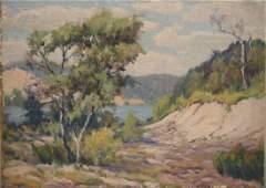 Attrib. Frank Dudley landscape