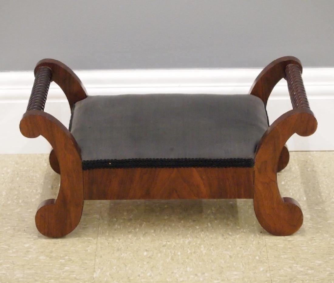 American Empire Transitional foot stool