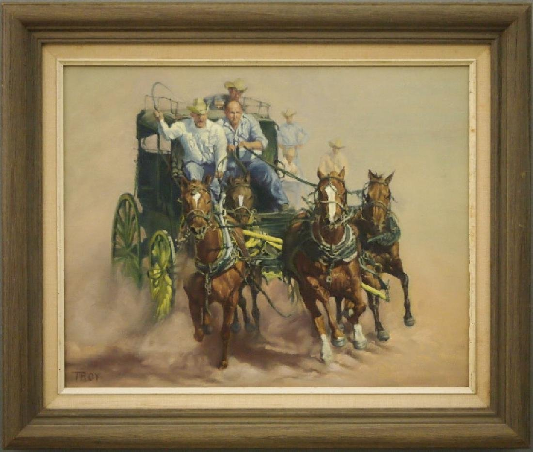 Tom Troy oil painting