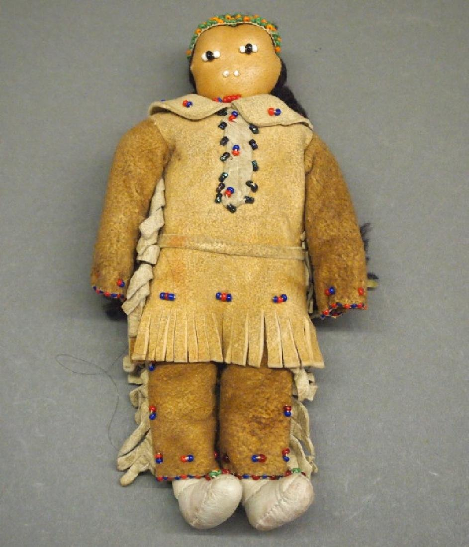 American Indian Beaded doll