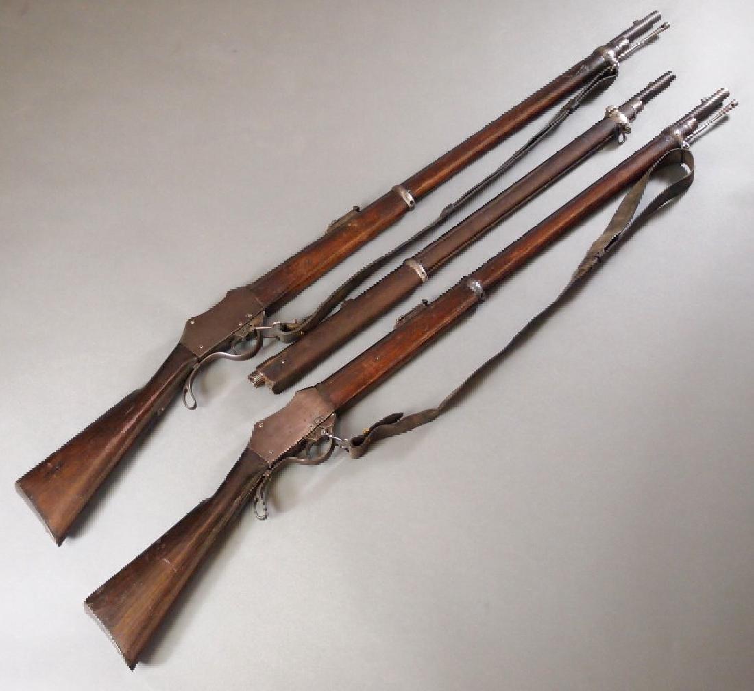 19th c Nepalese Gahendra rifles