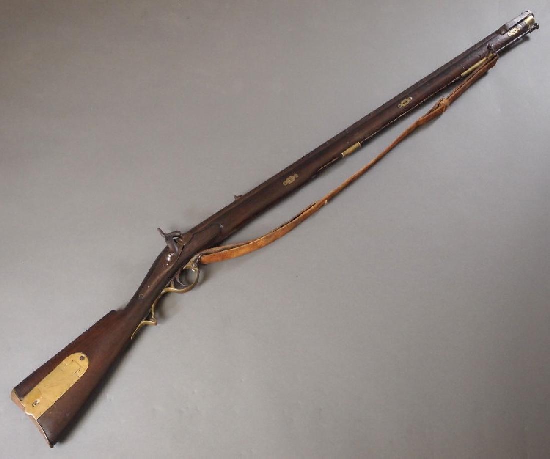 19th c Nepalese Brunswick rifle