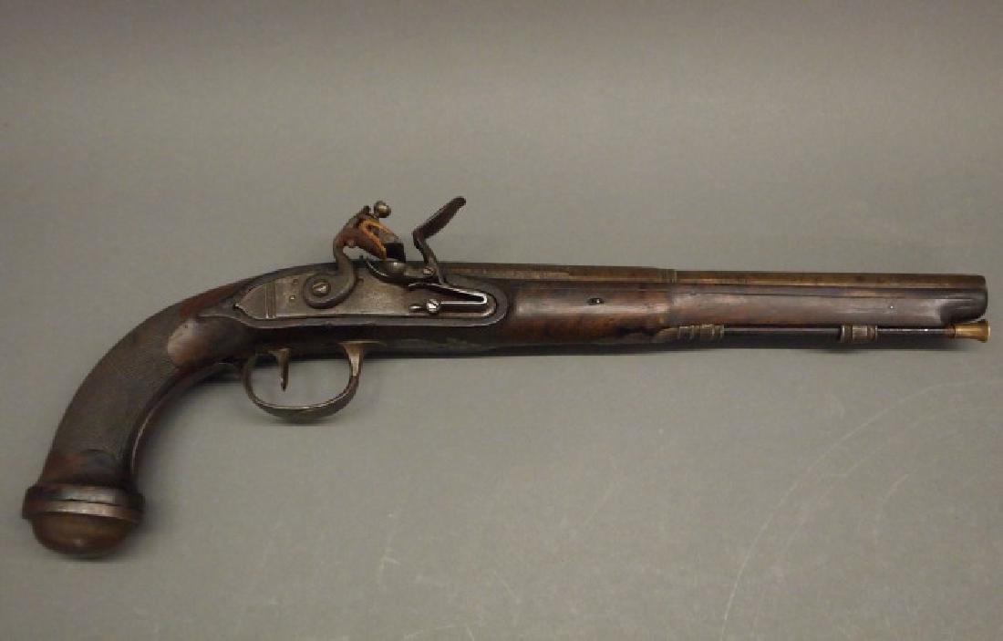 German flintlock dueling pistol
