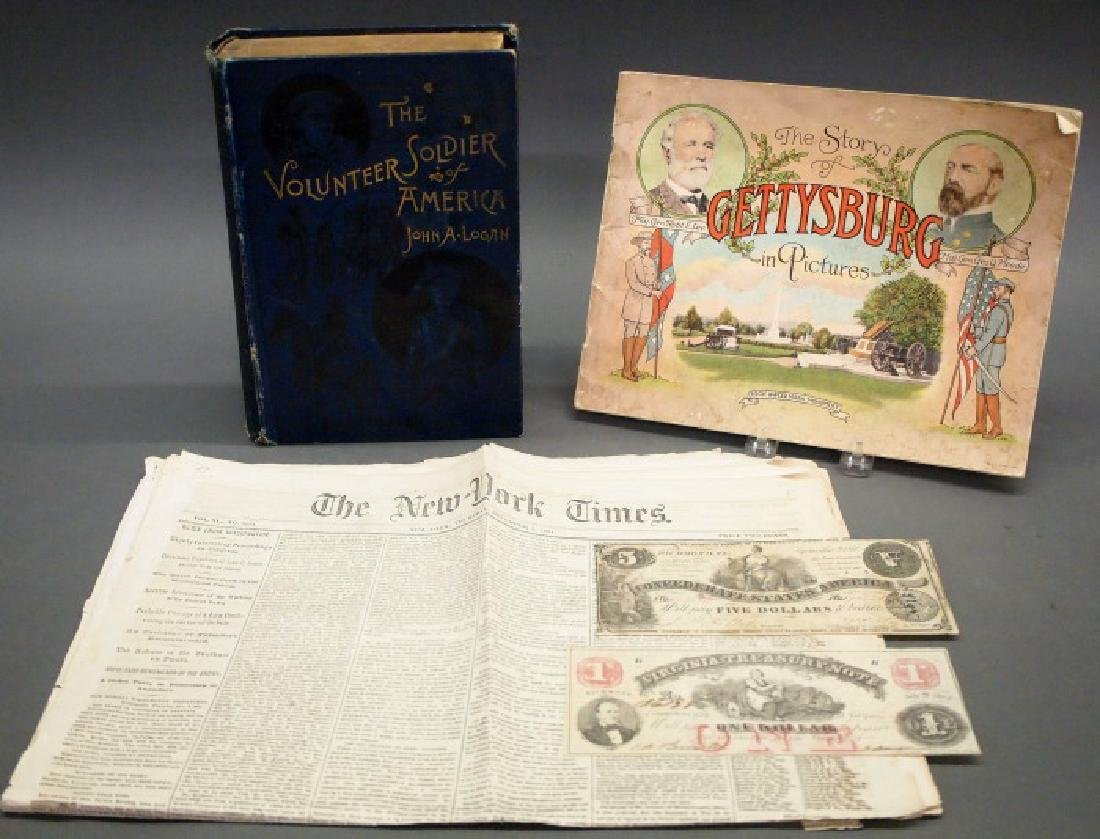 Civil War era and themed collectibles
