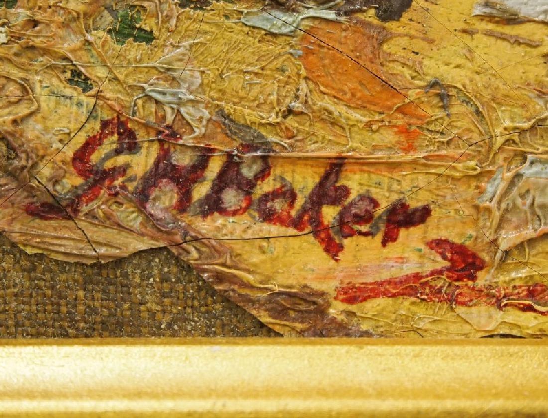 Attrib. George Herbert Baker oil on canvas - 2