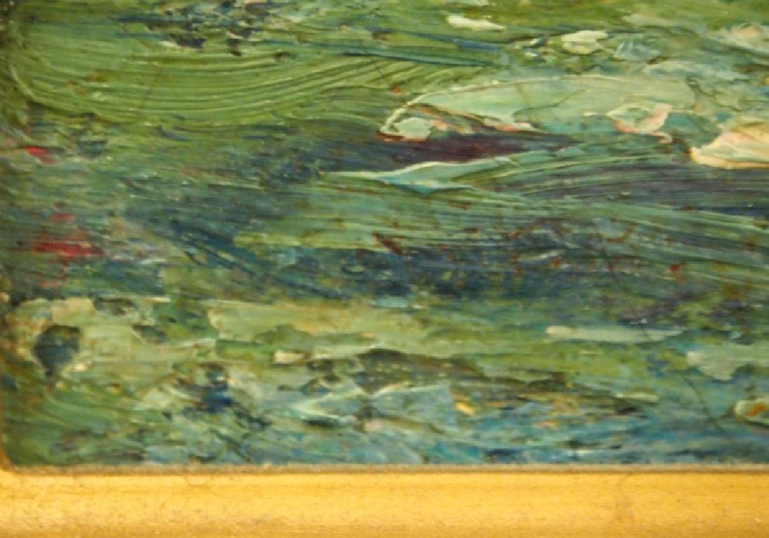 Impressionist style oil on canvas - 2