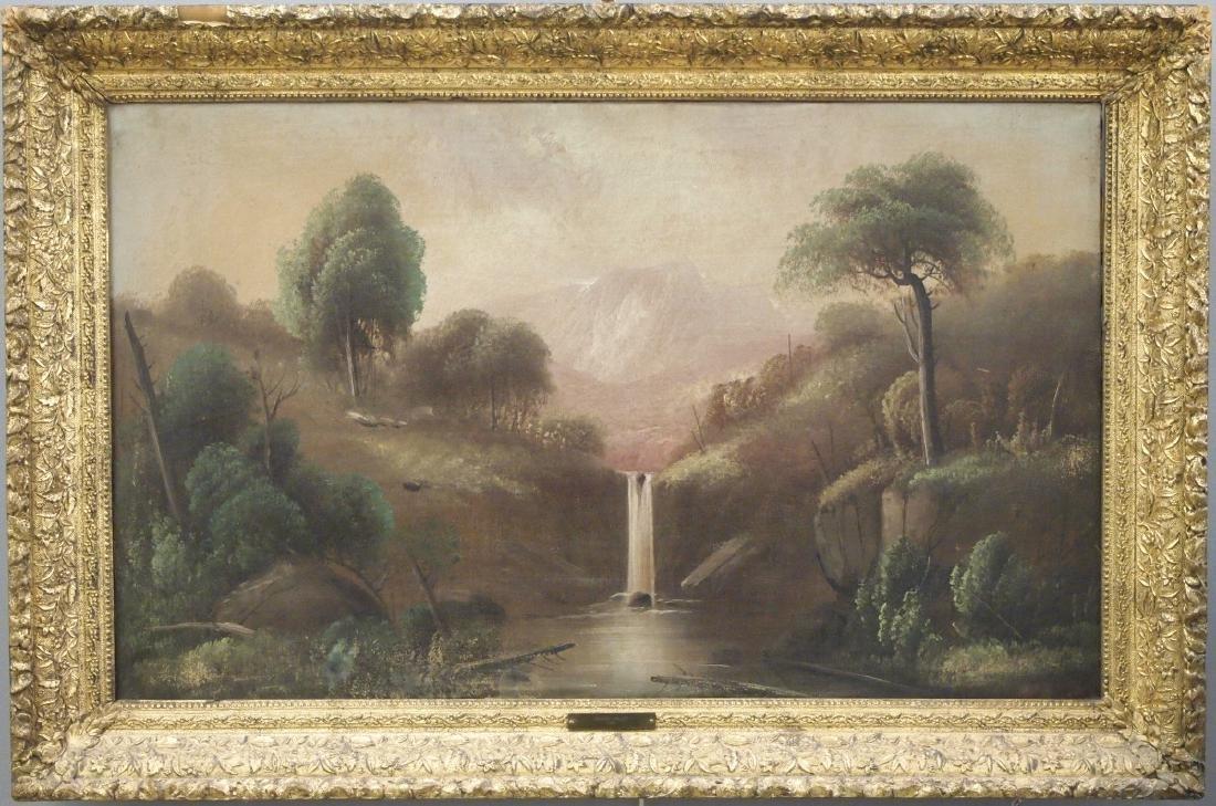 Pr of Hudson River style landscapes - 2